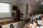 Workshop on 'Executing Project Work in Dot Net' for II & III year BSc and BCA students'