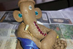 NISARGAYANA-Inter-class competitions: 'Mannina Kale'-Clay Designing